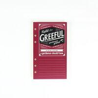 Greeful リフィルS A罫7mm