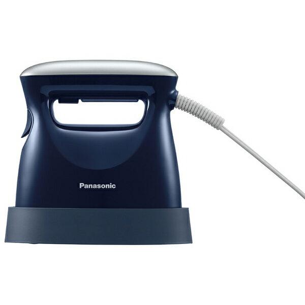 Panasonic 衣類スチーマー (ダークブルー) NI-FS550-DA