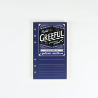 Greeful リフィルS B罫6mm