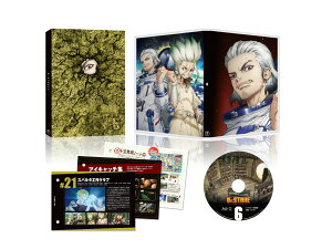 Dr.STONE ドクターストーン Vol.6 Blu-ray(初回生産限定版)【Blu-ray】