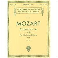 【輸入楽譜】モーツァルト, Wolfgang Amadeus: バイオリン協奏曲 第3番 ト長調 KV 216/フランコ編