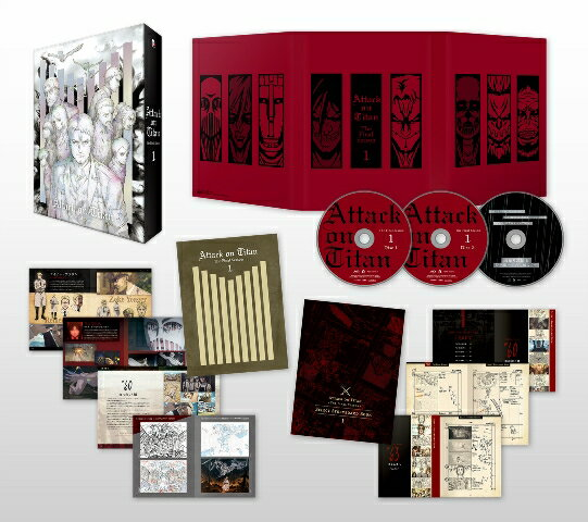 「進撃の巨人」The Final Season 1【初回限定 Blu-ray】【Blu-ray】