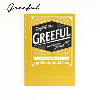Greeful リフィルM 5mm方眼