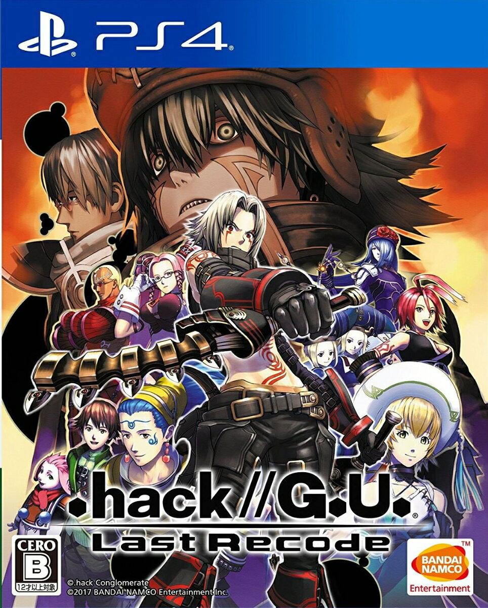 .hack//G.U. Last Recode 通常版画像
