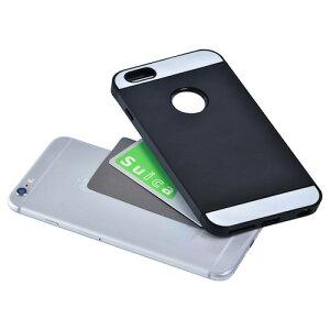 駅の改札やコンビニでピッ ICカードジャケット for iPhone 6 Plus(ICカード…