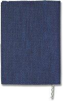ワールルドクラフト ブックカバー A6 文庫本サイズ フライハイト ロイヤルブルー FH-BC02B-RB