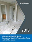 Contractor's Pricing Guide: Residential Repair & Remodeling Costs with RSMeans Data CONTRACTORS PRICING GD 2018 [ Rsmeans ]