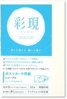 PCM竹尾 プリンタ用紙 彩現 ポストカード IJリーブル 1742209