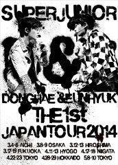 【楽天ブックスならいつでも送料無料】SUPER JUNIOR D&E THE 1st JAPAN TOUR 2014 [2DVD] [ SUP...