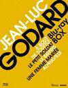 ジャン=リュック・ゴダール Blu-ray BOX Vol.1/ヌーヴェル・ヴァーグの誕生【Blu-ray】 [ ジャン=ポール・ベルモンド ]