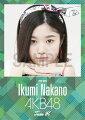 (卓上) 中野郁海 2016 AKB48 カレンダー