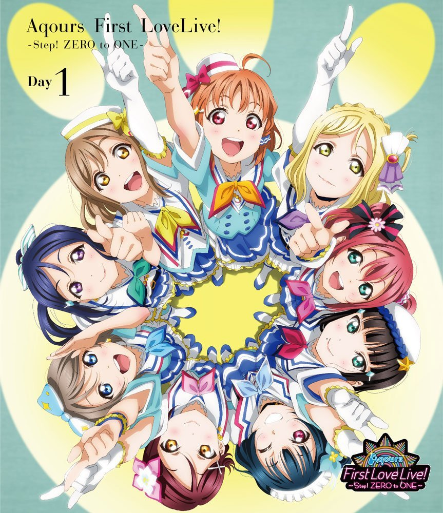 キッズアニメ, その他 !! Aqours First LoveLive! Step! ZERO to ONE Day1Blu-ray Aqours
