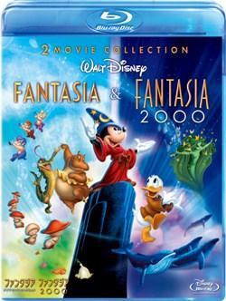 ファンタジア ダイヤモンド・コレクション&ファンタジア 2000 ブルーレイ・セット【Blu-ray】 【Disneyzone】画像