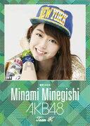 (卓上) 峯岸みなみ 2016 AKB48 カレンダー