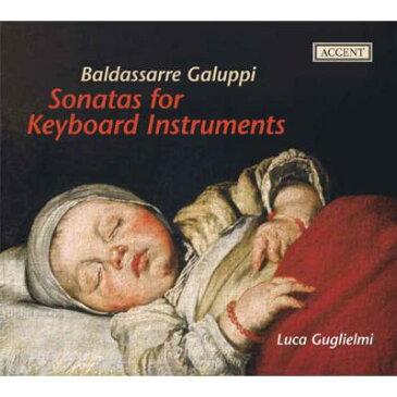 【輸入盤】鍵盤楽器のためのソナタ集 グリエルミ(チェンバロ、クラヴィコード、オルガン、フォルテピアノ) [ ガルッピ、バルダッサーレ(1706-1785) ]