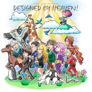 天地創造デザイン部 エンディングテーマ「DESIGNED BY HEAVEN!」