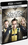 X-MEN:ファースト・ジェネレーション(4K ULTRA HD+2Dブルーレイ/2枚組)【4K ULTRA HD】