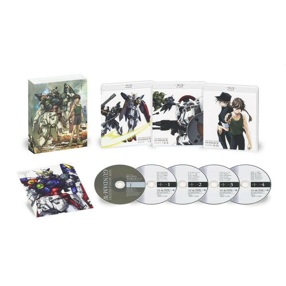 新機動戦記ガンダムW Blu-ray Box 1(特装限定版)【Blu-ray】画像