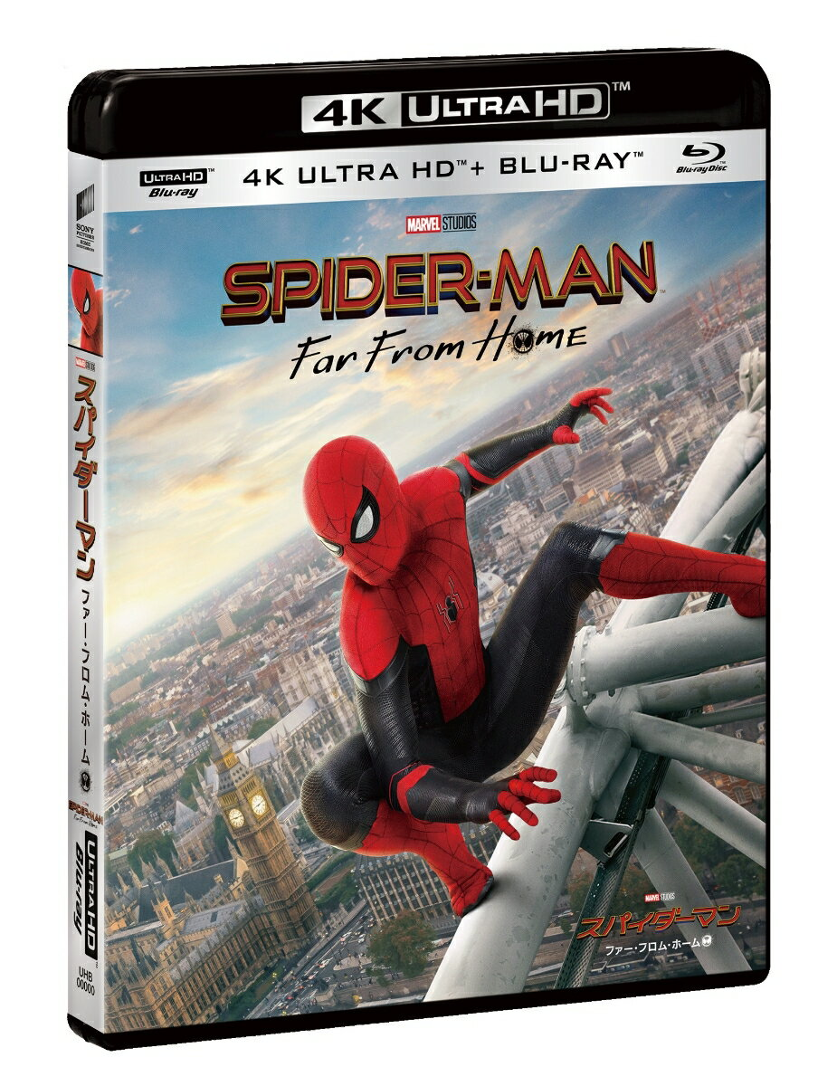 スパイダーマン:ファー・フロム・ホーム 4K ULTRA HD & ブルーレイセット(初回生産限定)【4K ULTRA HD】