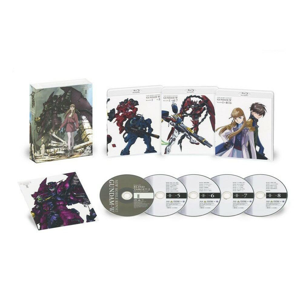 新機動戦記ガンダムW Blu-ray Box 2(特装限定版)(最終巻)【Blu-ray】画像