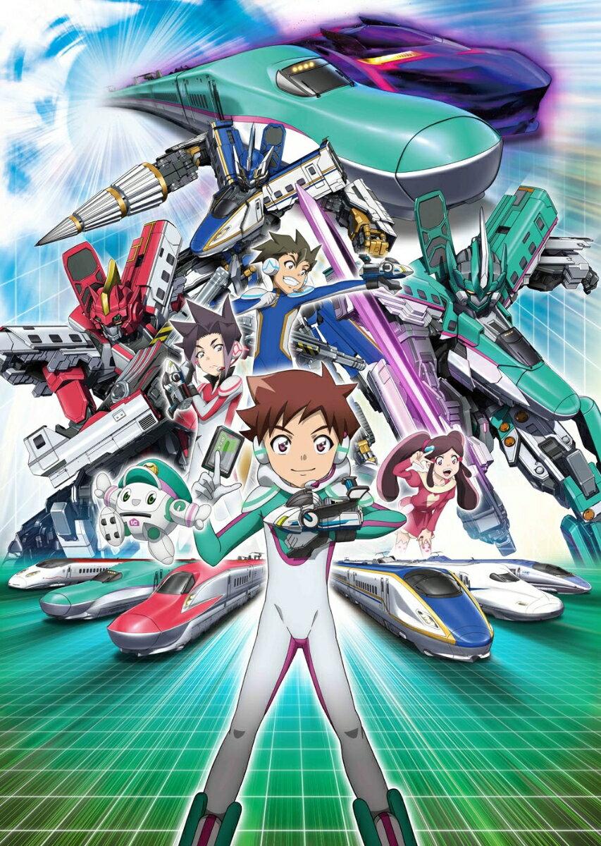 新幹線変形ロボ シンカリオンBlu-ray BOX3(通常版)【Blu-ray】