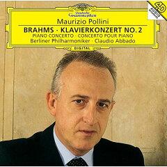 ブラームス - ピアノ協奏曲 第1番 ニ短調 作品15(マウリツィオ・ポリーニ )