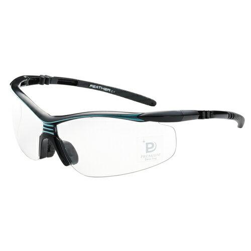 EYE CARE GLASS PREMIUM (保護メガネ) FEATHER02 Premium BK