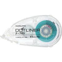 コクヨ テープのり ドットライナー 透明 本体 ターDM400-08T