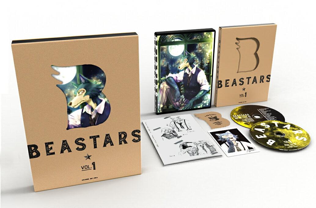 BEASTARS Vol.1 初回生産限定版【Blu-ray】画像