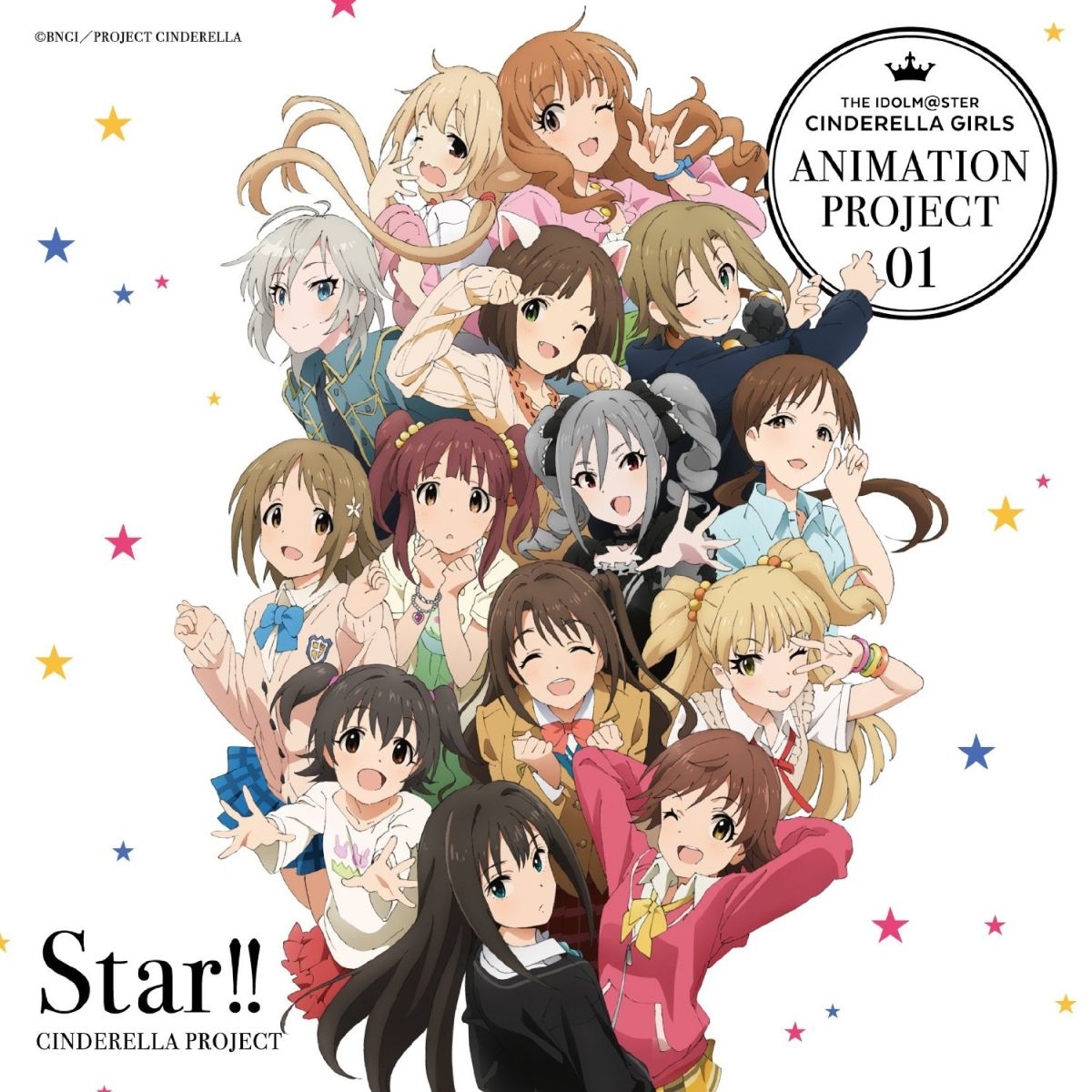 THE IDOLM@STER CINDERELLA GIRLS ANIMATION PROJECT 01 Star!!画像