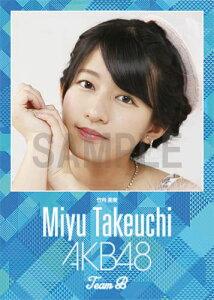(卓上) 竹内美宥 2016 AKB48 カレンダー【生写真(2種類のうち1種をランダム封入)…