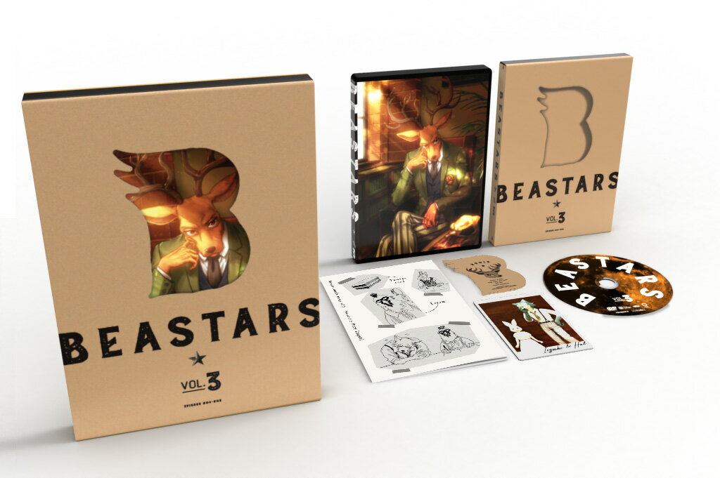 BEASTARS Vol.3【Blu-ray】画像