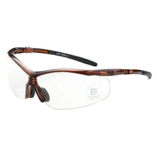EYE CARE GLASS PREMIUM (保護メガネ) FEATHER02 Premium クリスタルBR