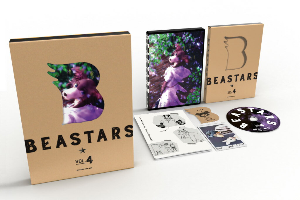 BEASTARS Vol.4【Blu-ray】画像