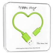 happy plugs Lightningケーブル 2.0m Apple認証 グリーン LIGHTNING-USB-CABLE-GREEN9903