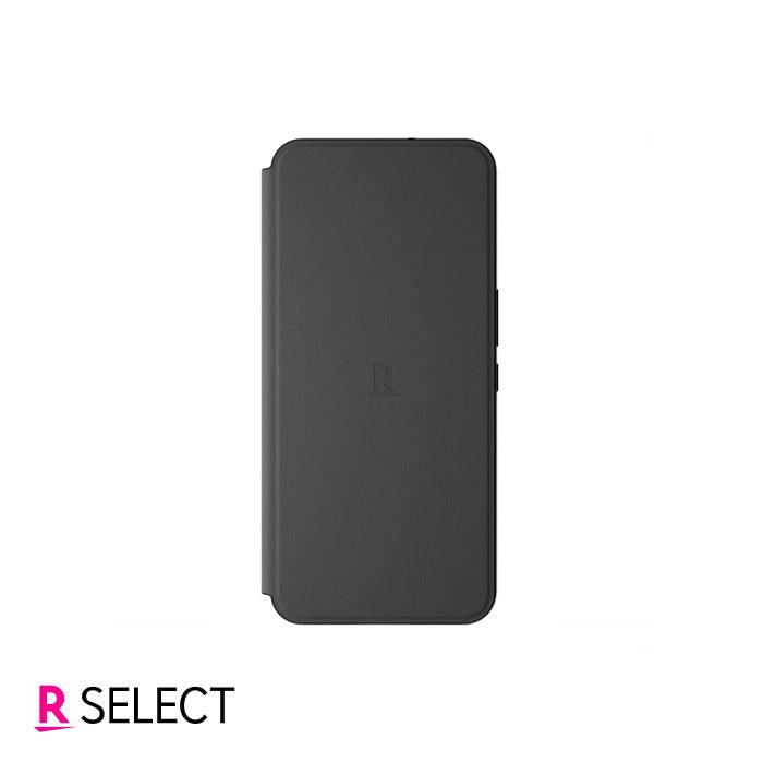 【楽天モバイル純正】Rakuten BIG スタンド機能付き手帳型ケース ブラック