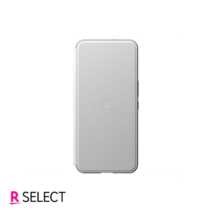 【楽天モバイル純正】Rakuten BIG スタンド機能付き手帳型ケース ホワイト