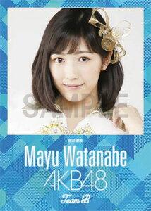 (卓上) 渡辺麻友 2016 AKB48 カレンダー【生写真(2種類のうち1種をランダム封入)…