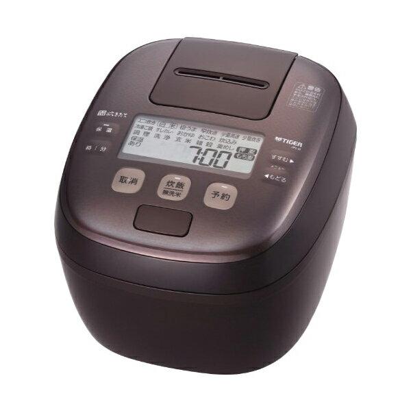 タイガー魔法瓶 圧力IHジャー炊飯器 〈炊きたて〉 1升 ダークブラウン JPI-H180TD