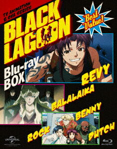 BLACK LAGOON Blu-ray BOX<スペシャルプライス版>【Blu-ray】画像
