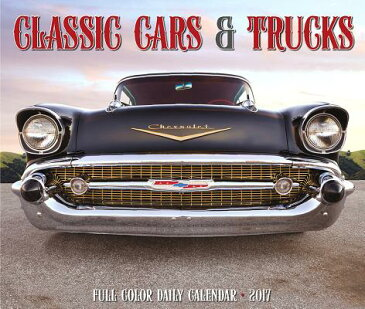2017 Classic Cars & Trucks Box Calendar CAL 2017-CLASSIC CARS & TRUCKS [ Willow Creek Press ]