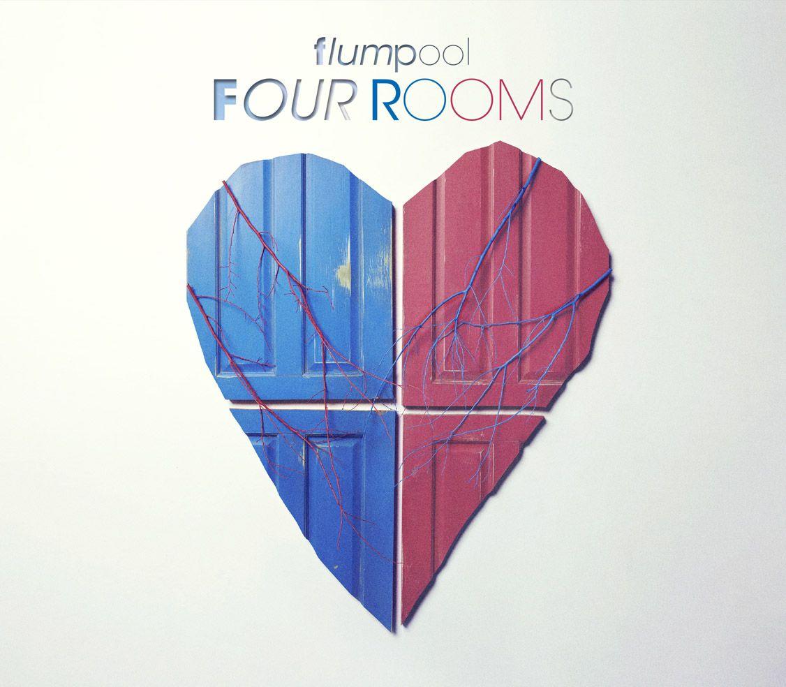 コンセプトディスク「FOUR ROOMS」 (初回限定盤 CD+DVD) [ flumpool ]