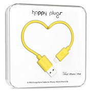 happy plugs Lightningケーブル 2.0m Apple認証 イエロー LIGHTNING-USB-CABLE-YELLOW9905