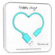 happy plugs Lightningケーブル 2.0m Apple認証 ターコイズ LIGHTNING-USB-CABLE-TURQUOISE9906