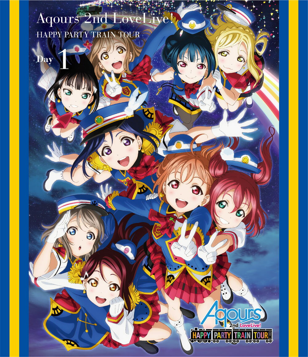 キッズアニメ, その他 !!! Aqours 2nd LoveLive! HAPPY PARTY TRAIN TOUR Day1Blu-ray Aqours