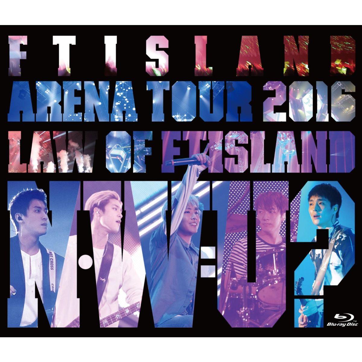 Arena Tour 2016 -Law of FTISLAND:N.W.U-【Blu-ray】画像