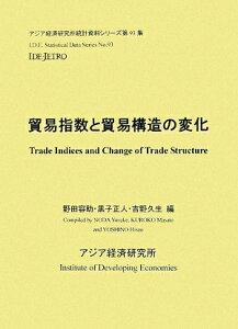 【送料無料】貿易指数と貿易構造の変化