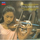 チャイコフスキー&シベリウス:ヴァイオリン協奏曲 [ チョン・キョンファ ]