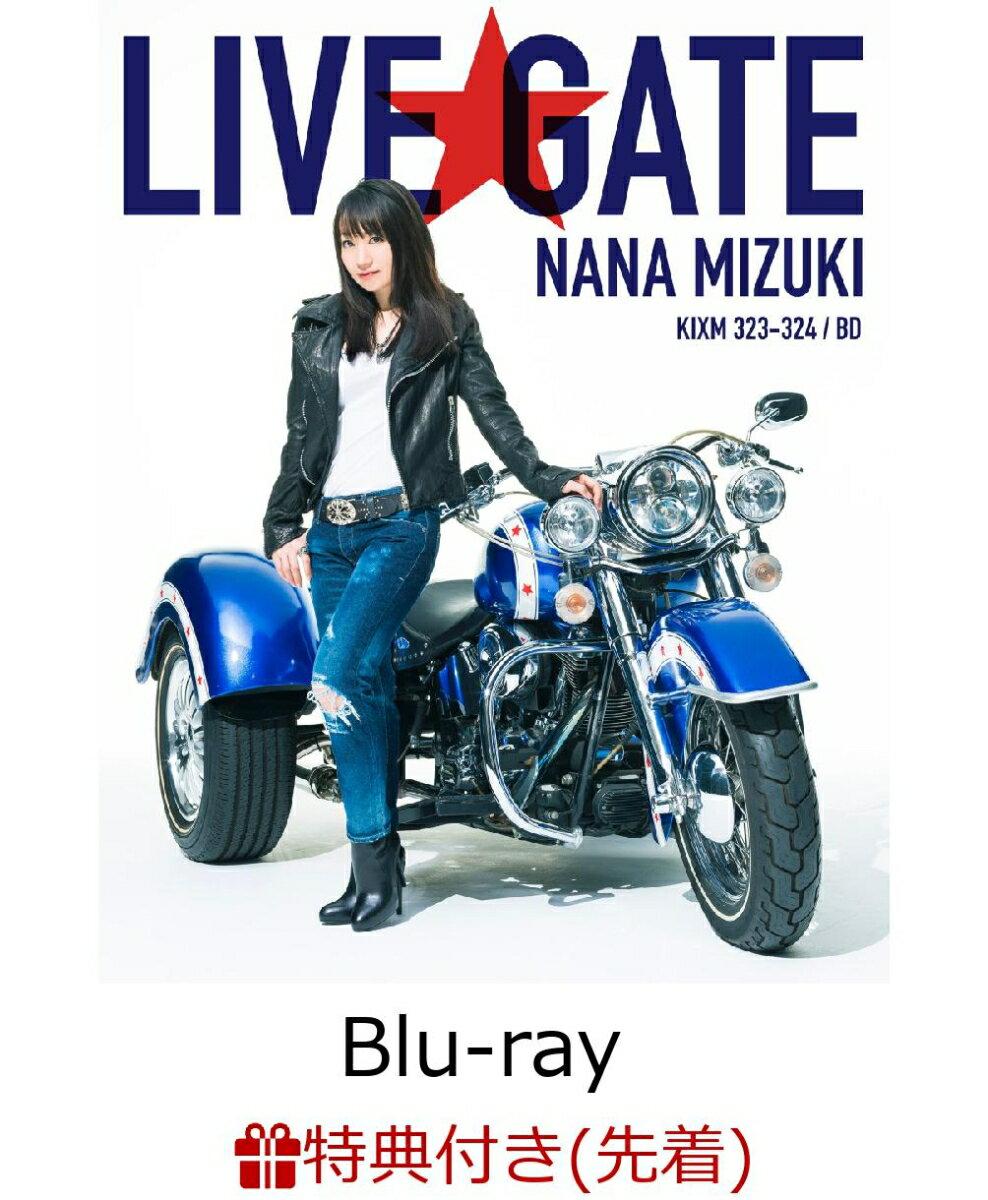 【先着特典】NANA MIZUKI LIVE GATE(B2告知ポスター付き)【Blu-ray】