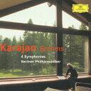 ブラームス:交響曲全集 交響曲第1番ー第4番 [ ヘルベルト・フォン・カラヤン